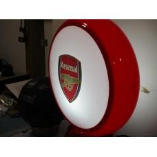 ARSENAL FOOTBALL CLUB LOGO GLOBE